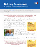 Bullying prevetion: a guide for grandparents cover art