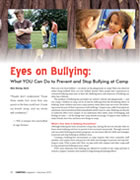 Eyes on Bullying: What YOU Can Do to Prevent and Stop Bullying at Camp